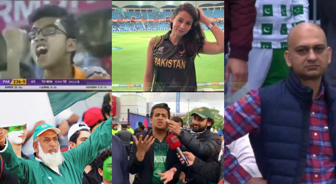 Fans who got viral after watching cricket matches at stadiums